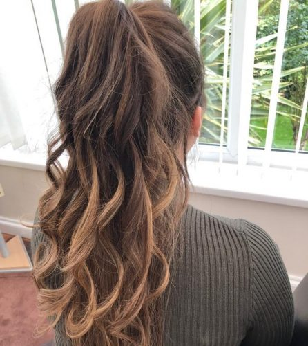 Hair curler gold photo review